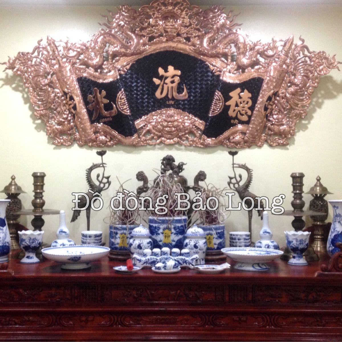 Lắp đặt Cuốn thư câu đối cho khách ở Từ Liêm, Hà Nội