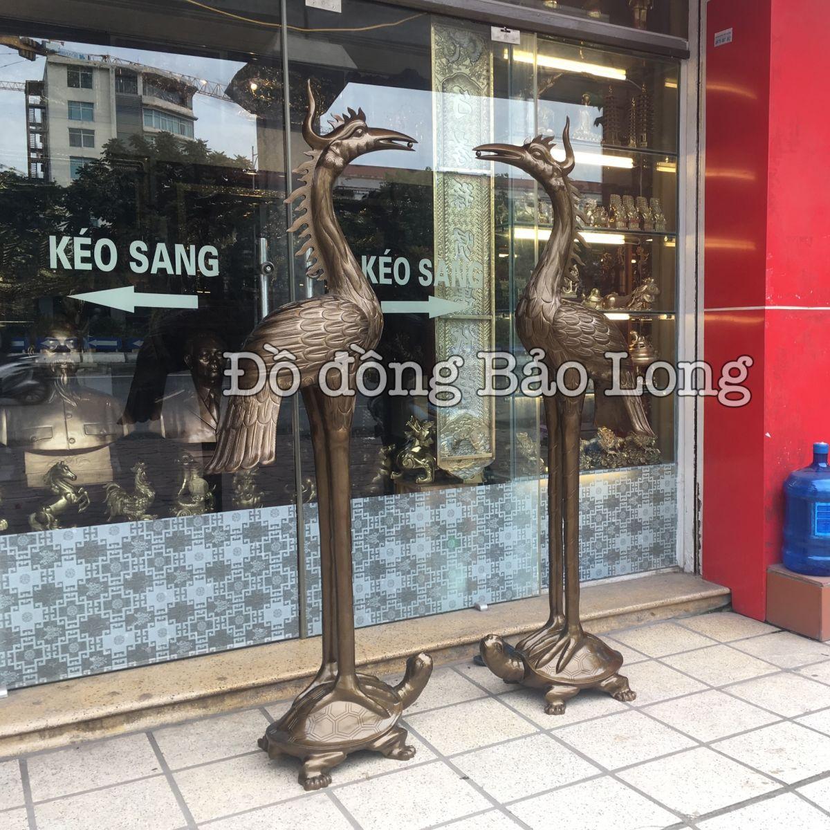 Cửa hàng, nơi bán hạc đồng, hạc thờ tại Sài Gòn TP Hồ Chí Minh