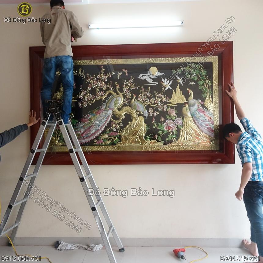 Cửa hàng, nơi bán tranh đồng mạ vàng tại Sài Gòn TP Hồ Chí Minh