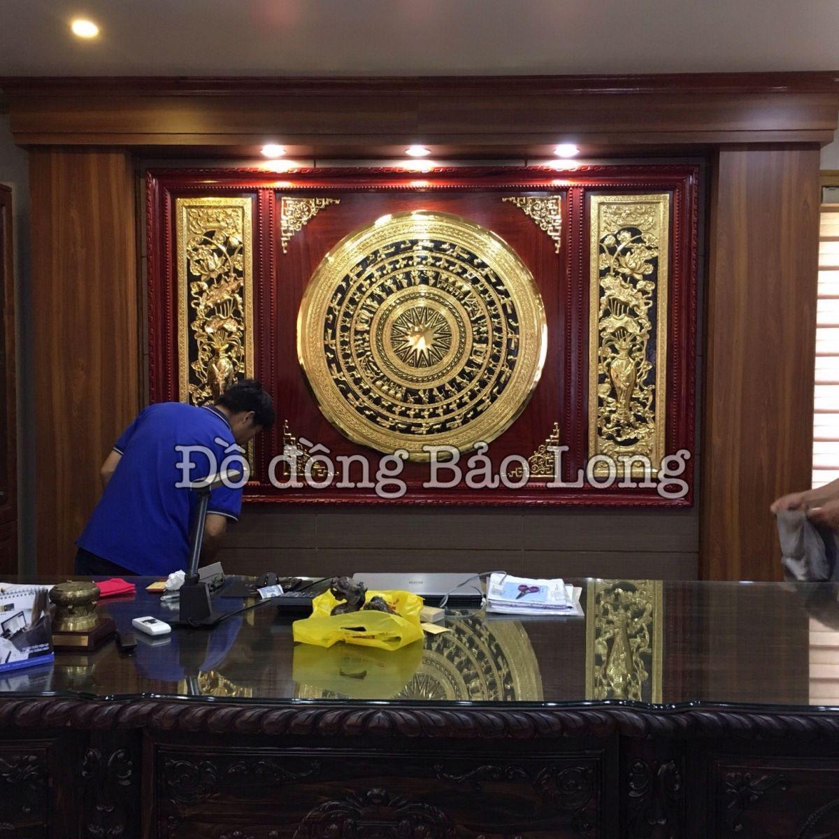 Dự án tranh đồng mạ vàng cho biệt thự của Đại gia Quảng Ninh