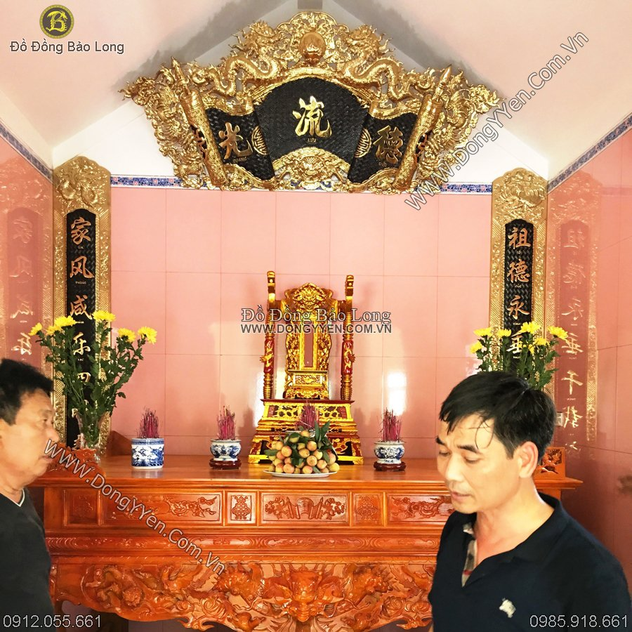 Bộ Cuốn Thư Câu Đối 1m97 Cho Khách Thái Bình