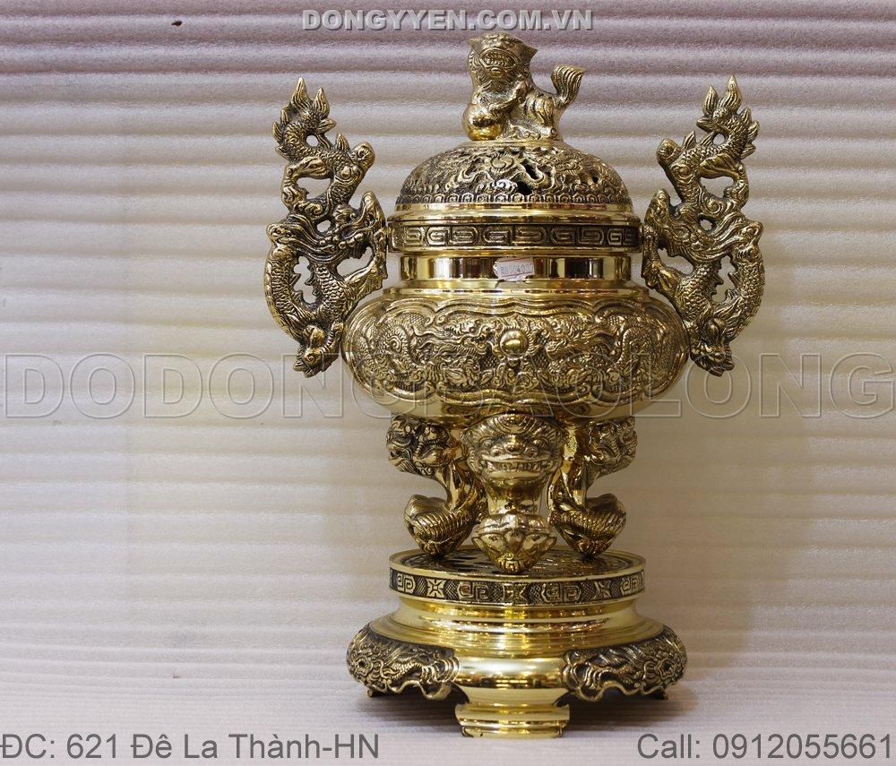 Đỉnh đồng vàng Đài Loan - Đỉnh thờ đồng vàng Đài Loan