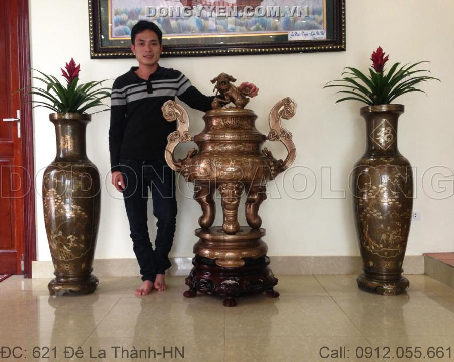 Lư Đồng Tam Khí 1m1
