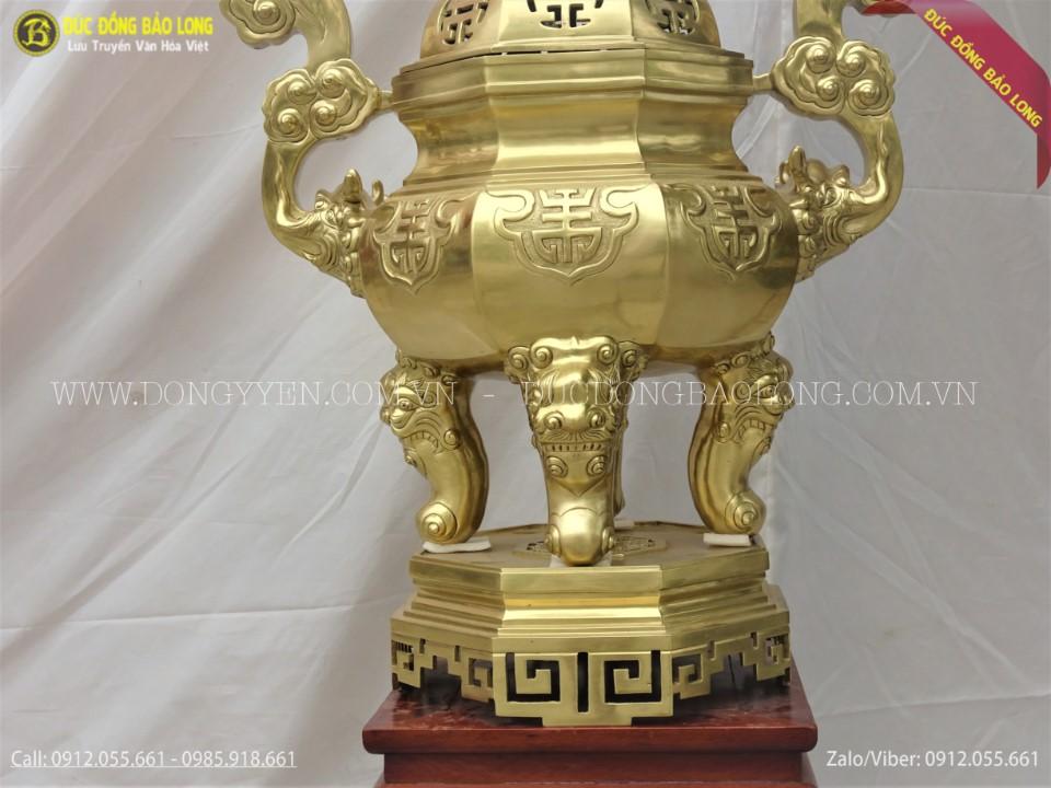 đỉnh thờ bằng đồng catut