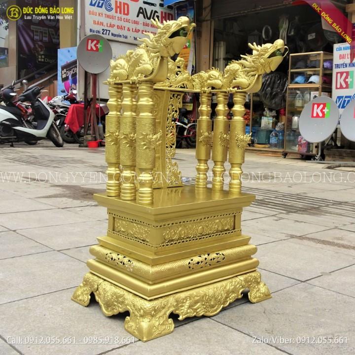 Ngai Thờ Bằng Đồng 68cm Cho Khách Ở Hà Đông