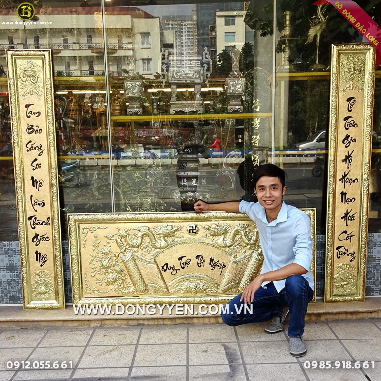 Bộ Đại Tự Câu Đối 1m76 Cho Khách Phú Thọ