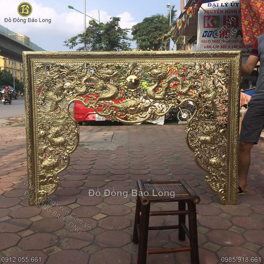 Cửa Võng Bằng Đồng 1m76 Hàng Đặt