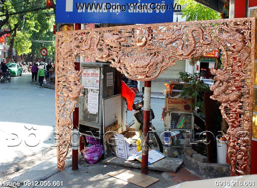 Cửa Võng Nhà Thờ Bằng Đồng Đỏ 2m57