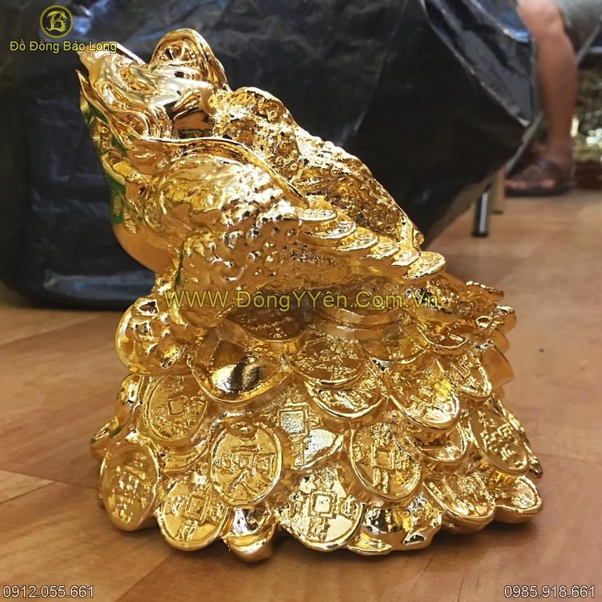 Cóc Đồng Mạ Vàng 24K