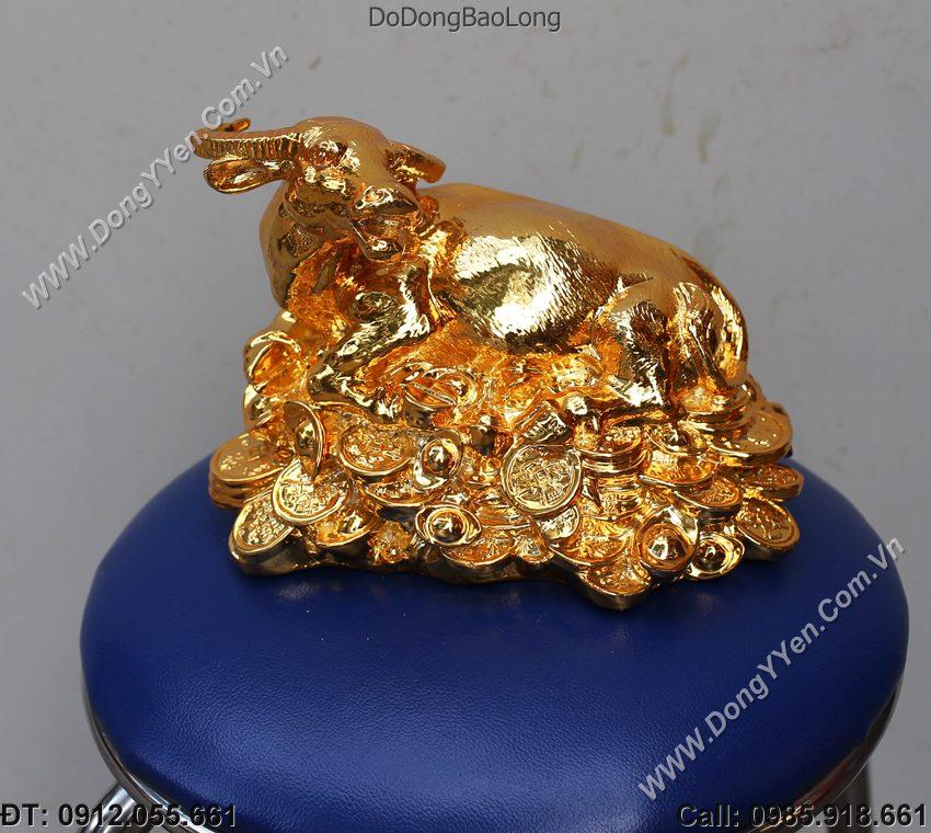 Trâu Mạ Vàng 24K