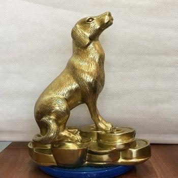 Chó Phong Thủy Đồng Katut 40cm