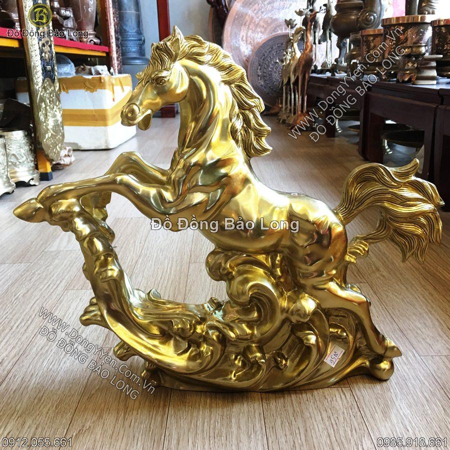 Con Ngựa Phi Bằng Đồng Katut 37cm