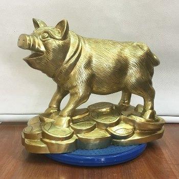 Lợn Phong Thủy Đồng Katut