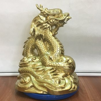 Rồng Phong Thủy Đồng Katut 35cm