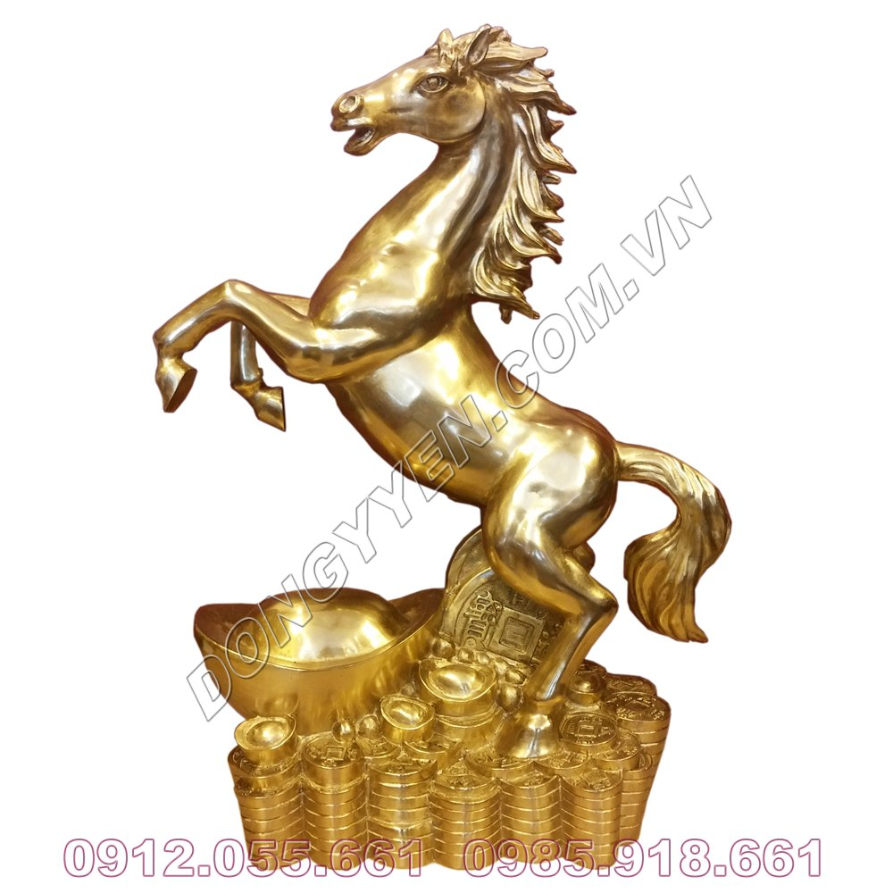 Tượng Ngựa Bằng Đồng - Ngựa Phong Thủy Bằng Đồng