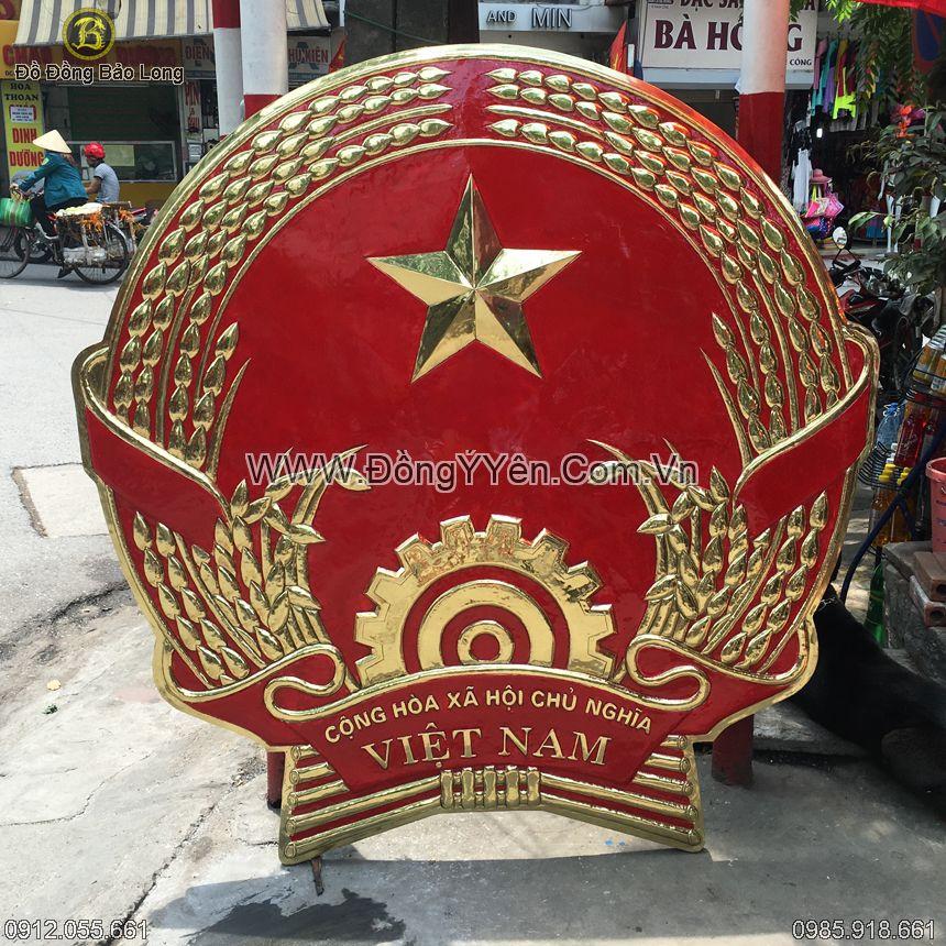 Quốc Huy Bằng Đồng 1m6