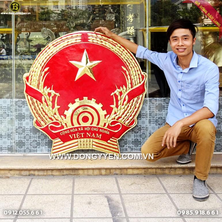 Quốc Huy Đồng Vàng DK 1m Tỉnh Hà Tĩnh