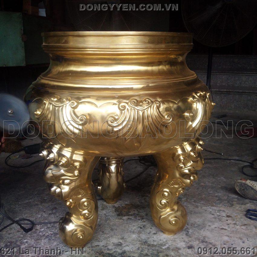 Lư Hương Bằng Đồng Cát Tút 1m5
