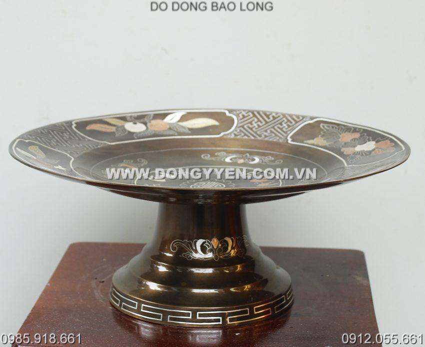 Mâm Bồng Khảm Tam Khí 30cm