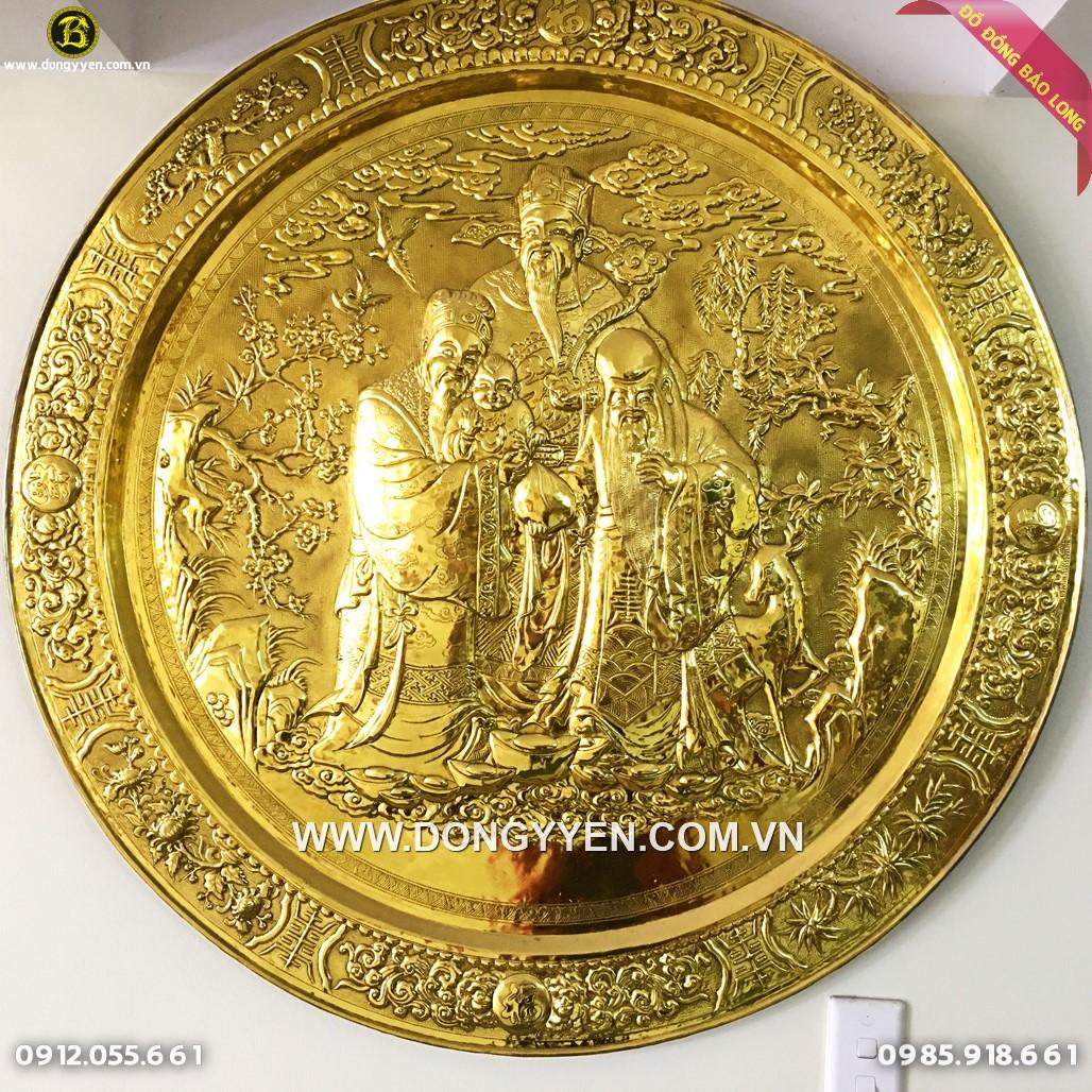 Mâm Tam Đa 1m Dát Vàng 9999