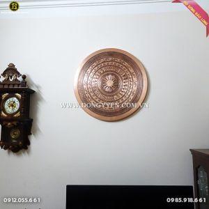 Mặt Trống Đồng Ngọc Lũ tinh xảo 80cm cho khách Vĩnh Yên