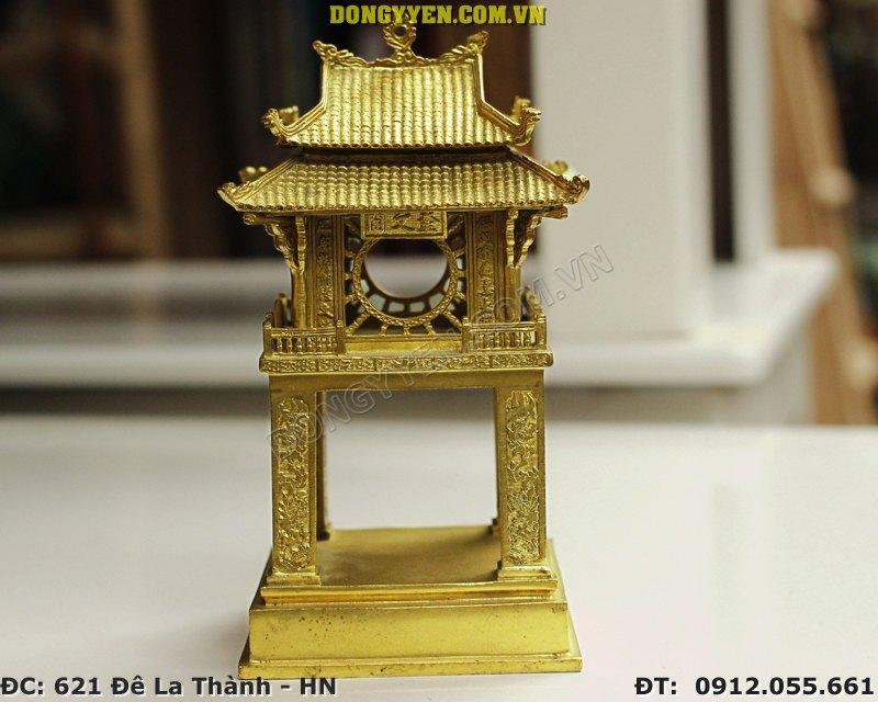 Khuê Văn Các Bằng Đồng Cao 14cm