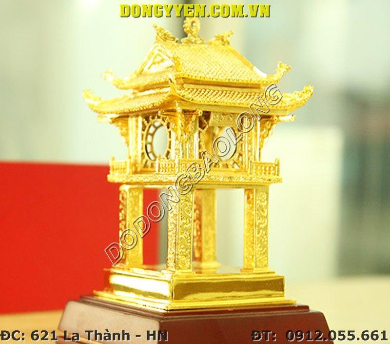 Quà Tặng Khuê Văn Các Mạ Vàng 24K - Khuê Văn Các Bằng Đồng