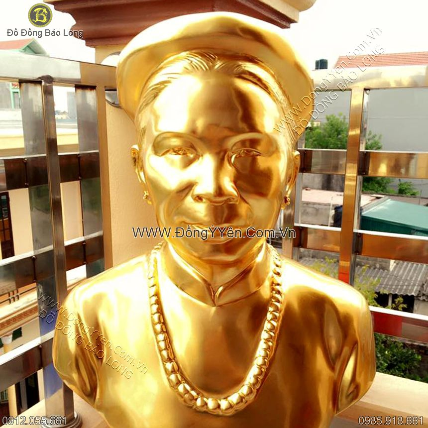 Thếp vàng Tượng Đồng Chân Dung