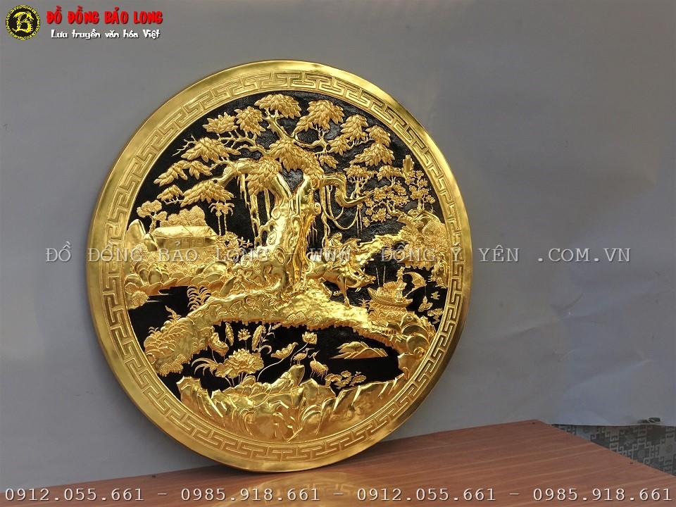 tranh đồng quê bằng đồng