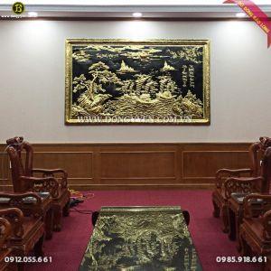 Tranh Thuận Buồm Xuôi Gió 2m62 cho khách Sơn Tây Hà Nội