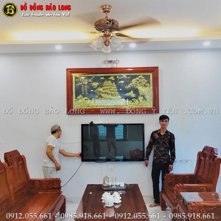 Tranh Thuận Buồm Xuôi Gió Bằng Đồng Cho Khách Ở KBT Tây Nam Linh Đàm