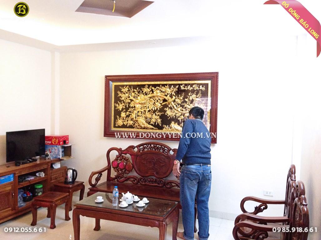 tranh vinh hoa phú quý 1m97 khách hà đông