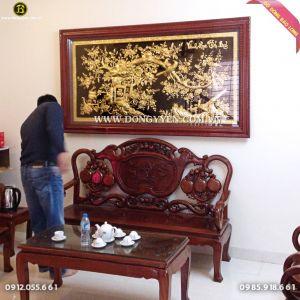 Tranh Vinh Hoa Phú Quý 1m97 cho khách Hà Đông HN