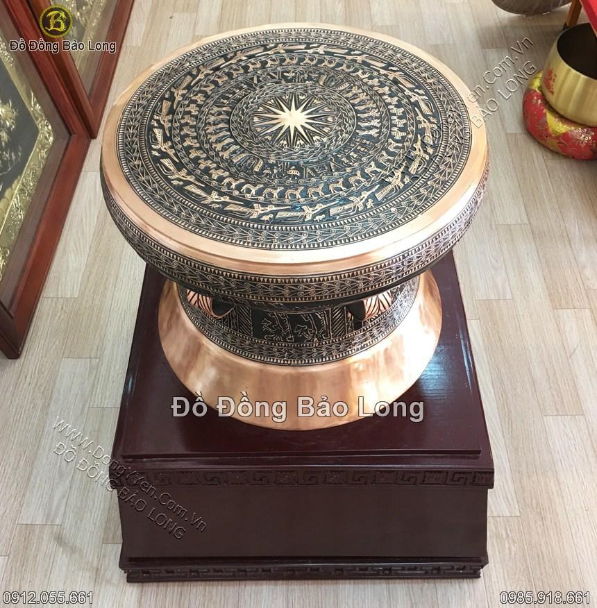 Bán Quả trống Đồng Đông Sơn DK 50cm