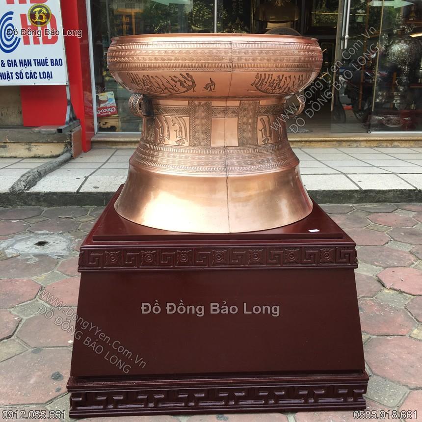 Trống Đồng Ngọc Lũ 1 DK 50cm