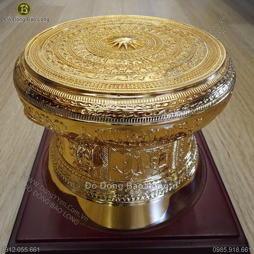 Trồng Đồng Mạ Vàng 24k DK 20cm