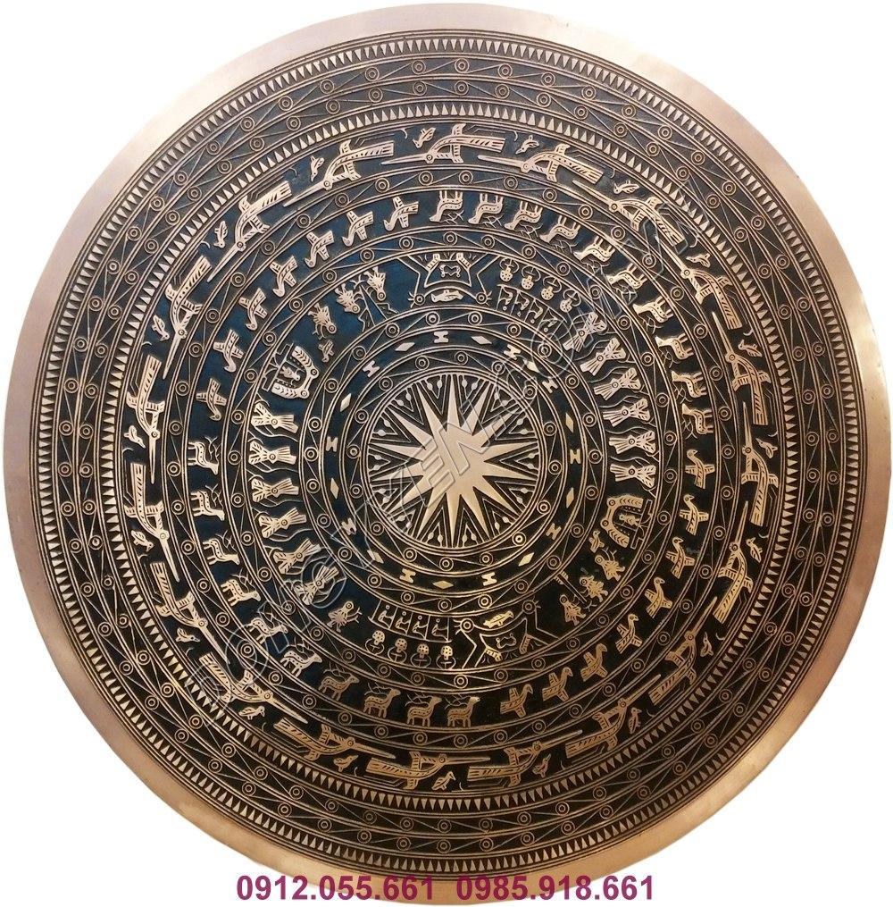 Mặt Trống Đồng Treo Tường 70cm