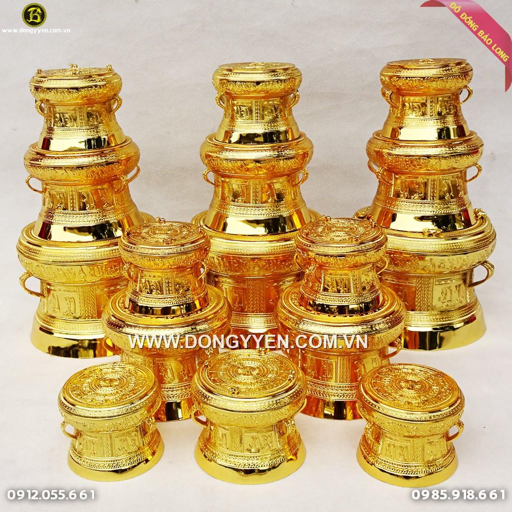Trống Đồng Quà Tặng Mạ Vàng 24k Rẻ Nhất
