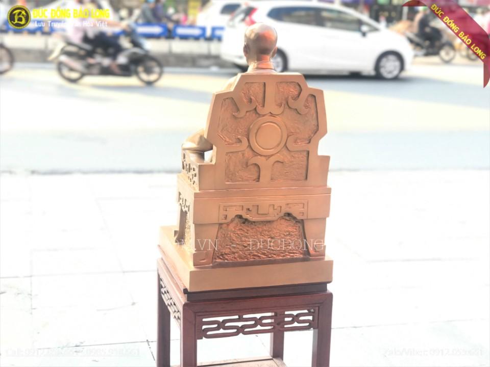 tượng bác hồ bằng đồng