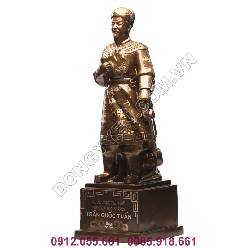 tượng trần hưng đạo 70cm