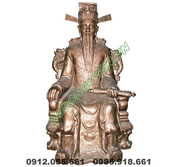 Đúc Tượng Vua Cho Nhà Chùa-Đền-Miếu