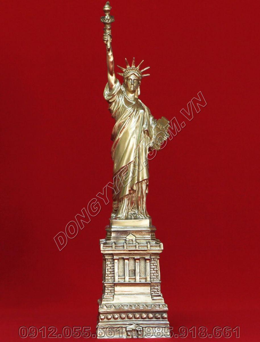 Tượng Đồng Nữ Thần Tự Do Cao 30cm