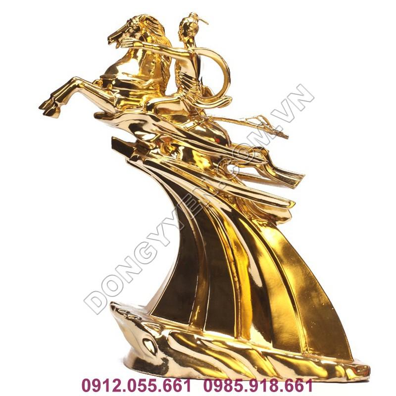 Tượng Đồng Thánh Gióng Mạ Vàng 24K