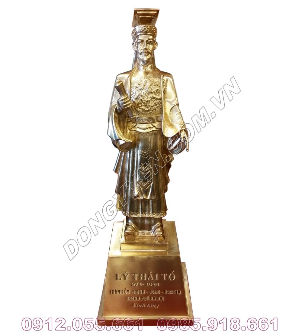 Tượng Đồng Vua Lý Thái Tổ 30cm