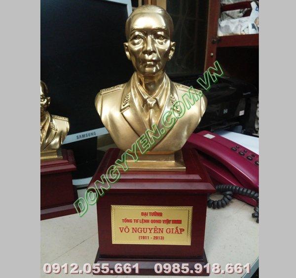 Tượng Đồng Chân Dung Võ Nguyên Giáp 16cm