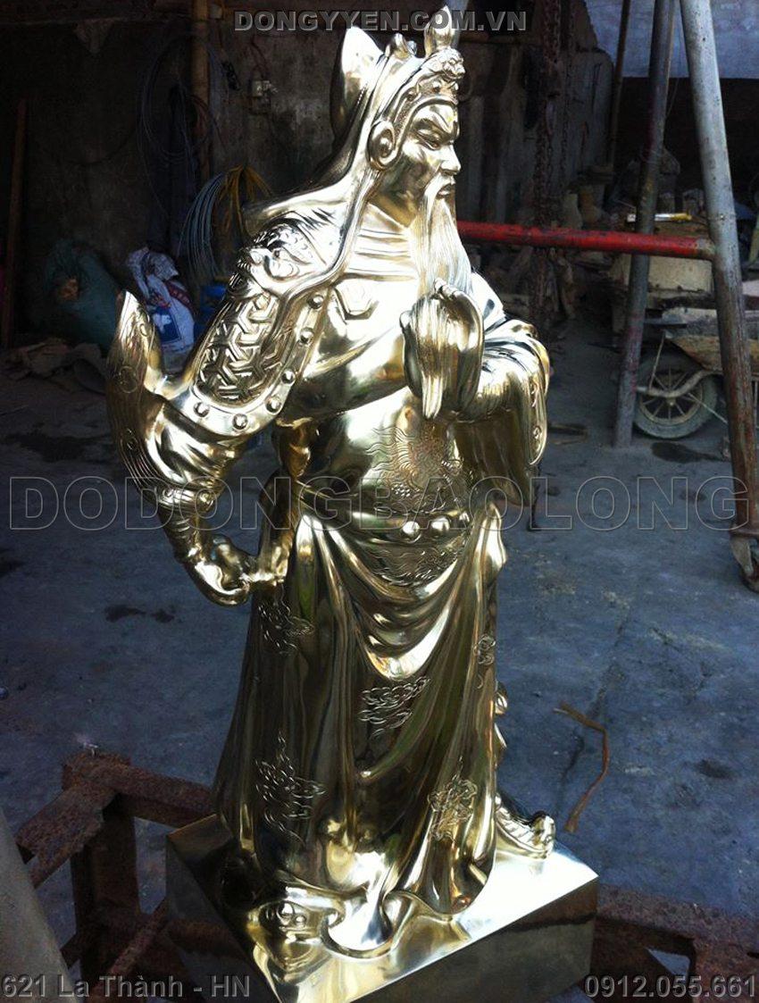 tượng đúc nguyên khối cao 70cm