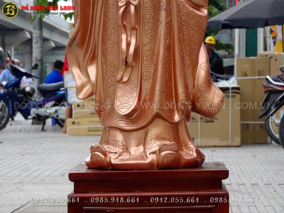 tượng khổng minh bằng đồng