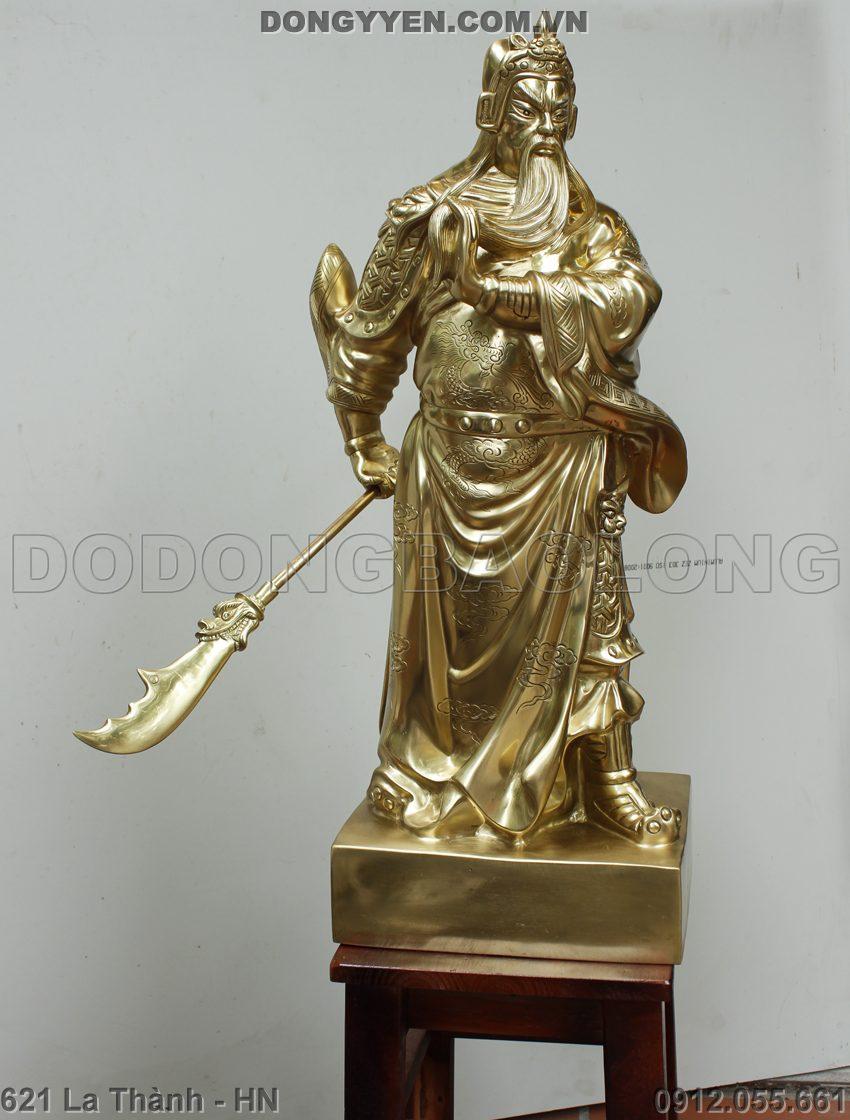 Tượng Đồng Quan Vân Trường 70cm