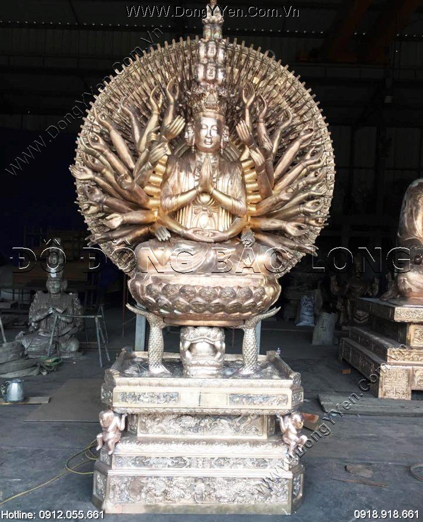 Đúc Tượng Phật bà Nghìn Tay