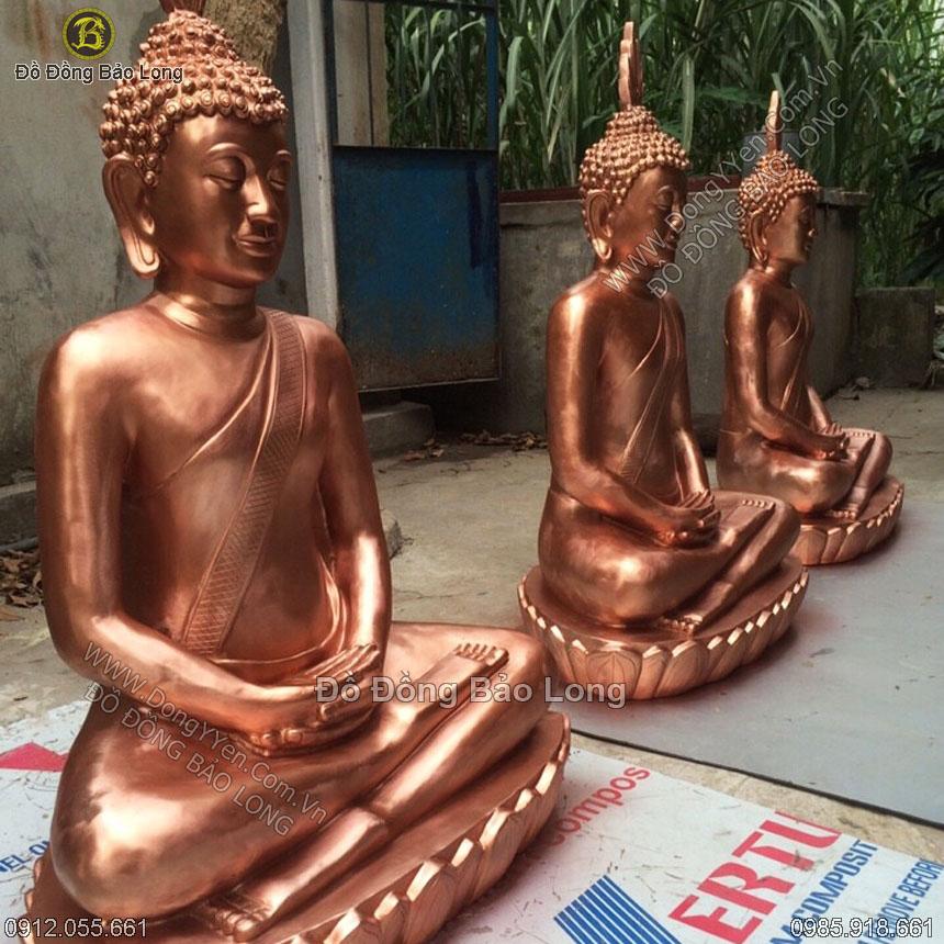 Đúc Tượng Phật Thích Ca Campuchia 1m